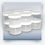 Plastic Jars (12 pack)