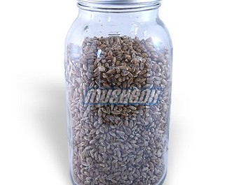 Rye Grain Jar